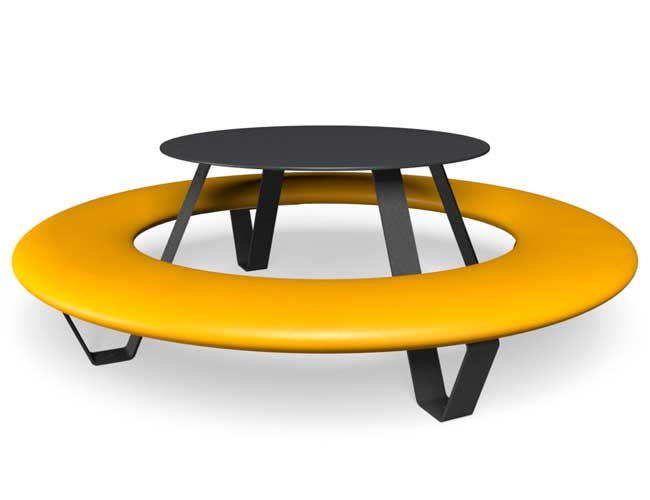 Buddy picknicktafel - Geel