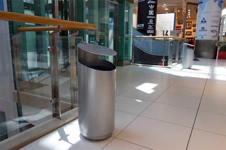 Tubo afvalbak voor binnen en buiten