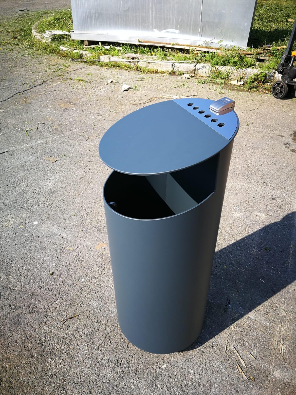 Tubo afvalbak - blauw