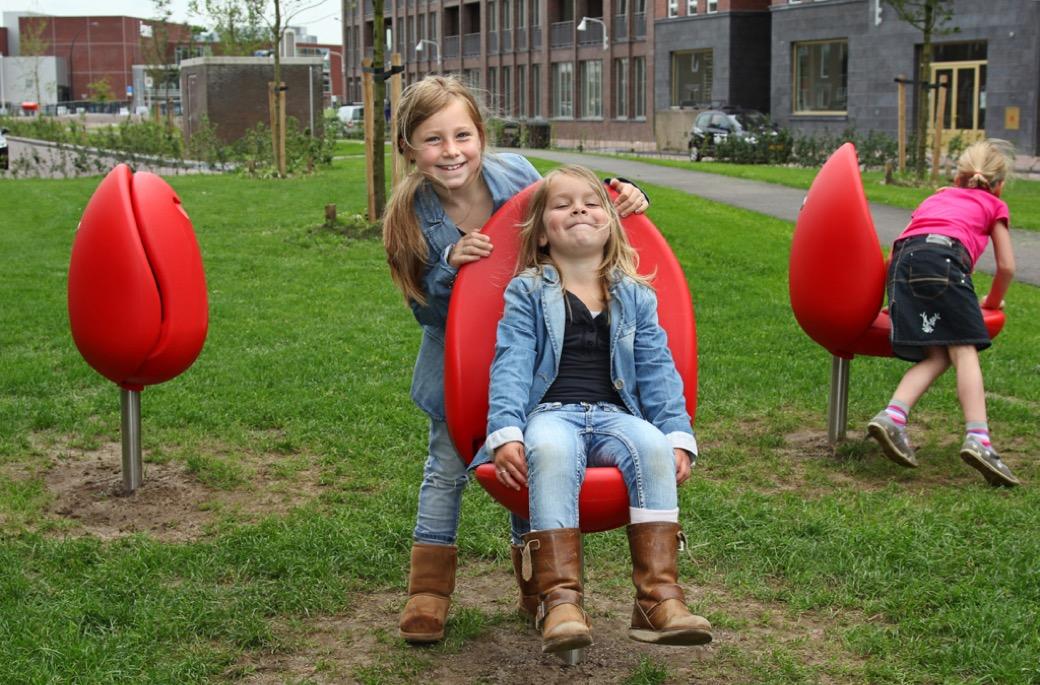 Tulpi stoel is kindvriendelijk