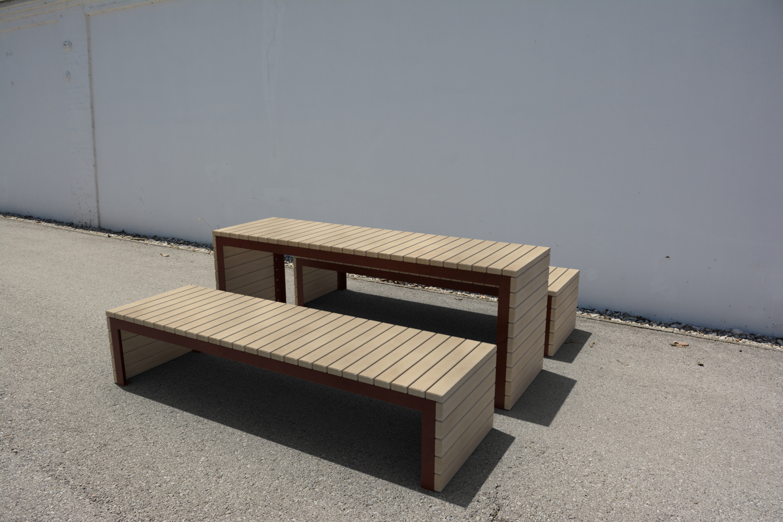 Woodrow tafel geschikt voor binnen en buiten