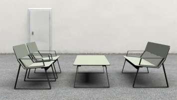 Superfly stoel geschikt voor bibliotheken en openbare binnenruimtes