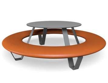 Buddy picknicktafel - Oranje