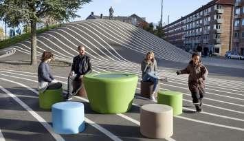 Loop Picnicktafel HopOp 500 voor de openbare ruimte