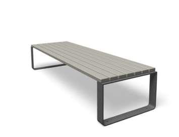 Mayfield tafel hout grijs