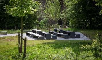 Passepartout Wood tafel geschikt voor elke buitenruimte
