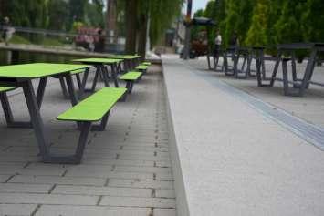 Picnic HPL picknicktafel - voor de (openbare) binnen- en buitenruimte
