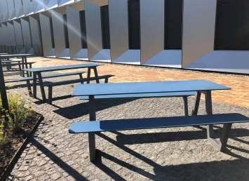 Picnic HPL picknicktafel geschikt voor binnen en buiten