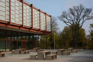 Woodrow bank voor de openbare ruimte