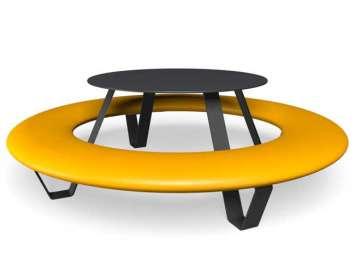 Buddy picknicktafel - Geel
