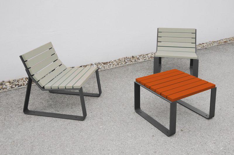 Mayfield tafel als bijzettafel met bijpassende stoelen