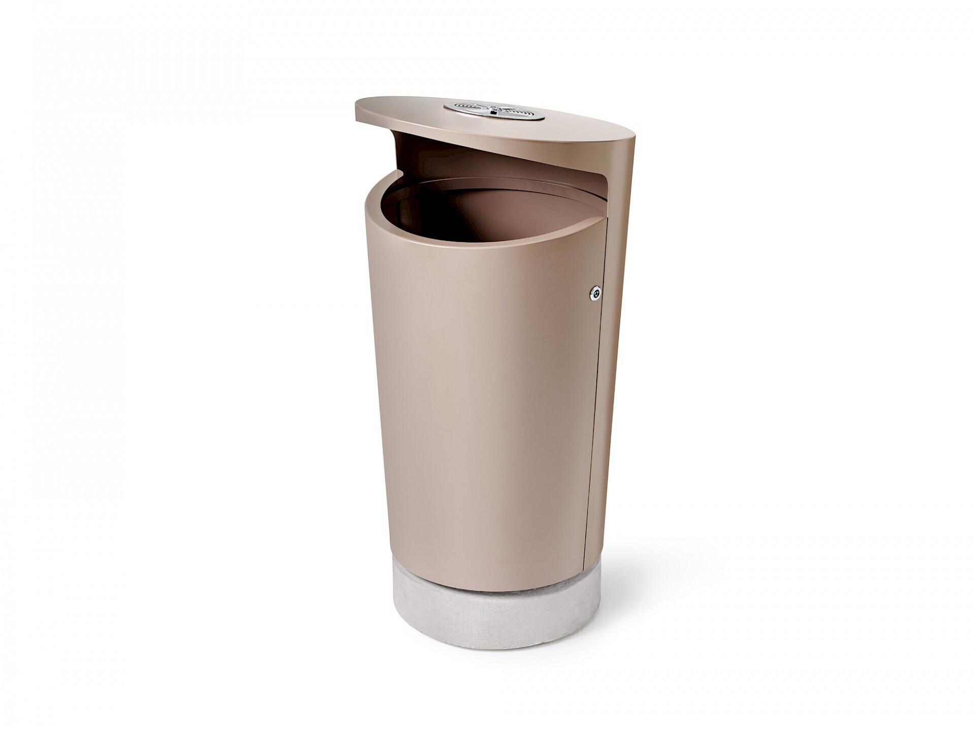 Elbin afvalbak geschikt voor binnen en buiten