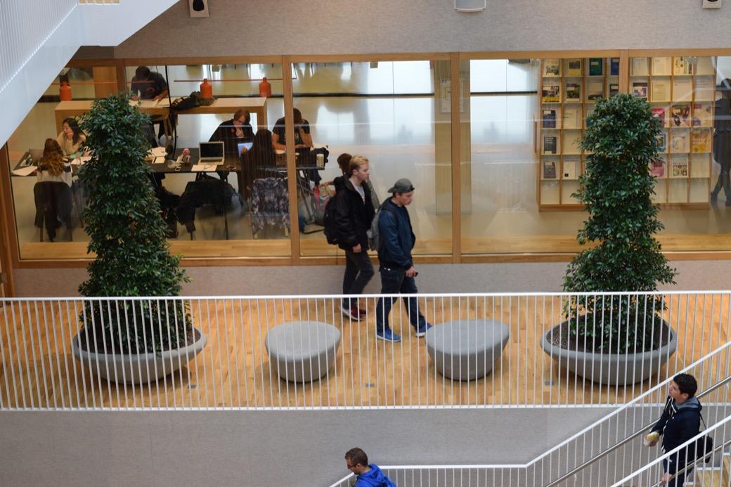 Supercells voor onderwijsgebouw Polak Building van de Erasmus Universiteit Rotterdam