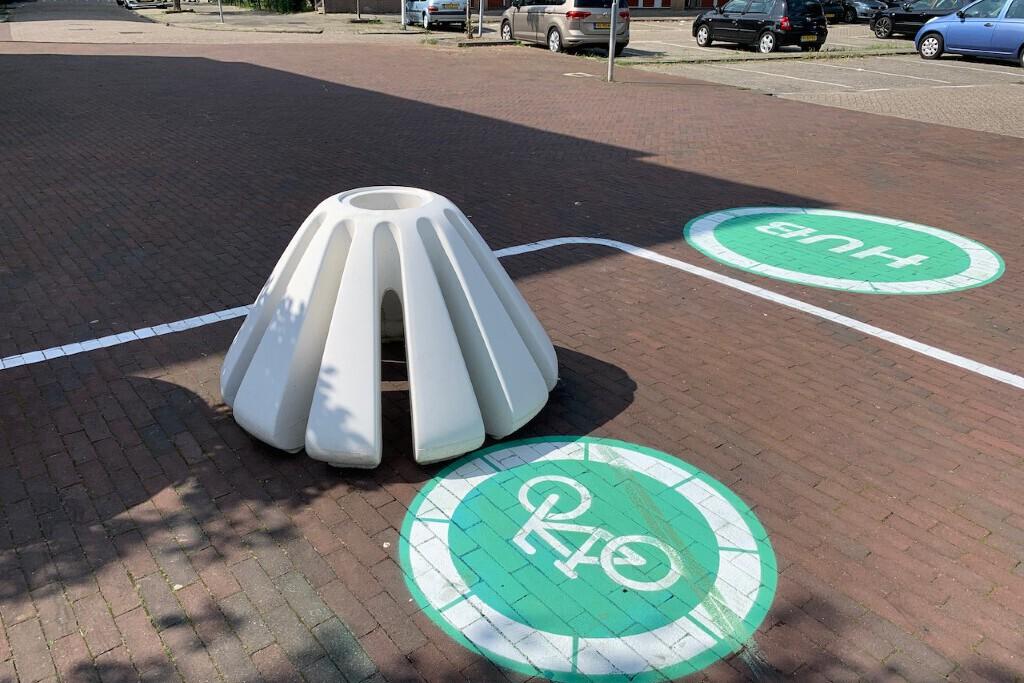 Aantrekkelijke deelvervoer hubs in Rotterdam