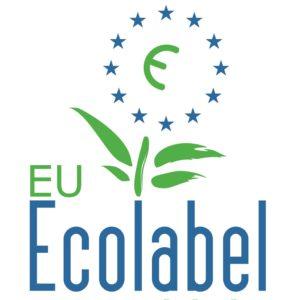 Ecolabel voor duurzame producten die volgens Europese richtlijnen zijn gemaakt voor een beter klimaat minder CO2 uitstoot recyclebaar plastic kunststof polyethyleen