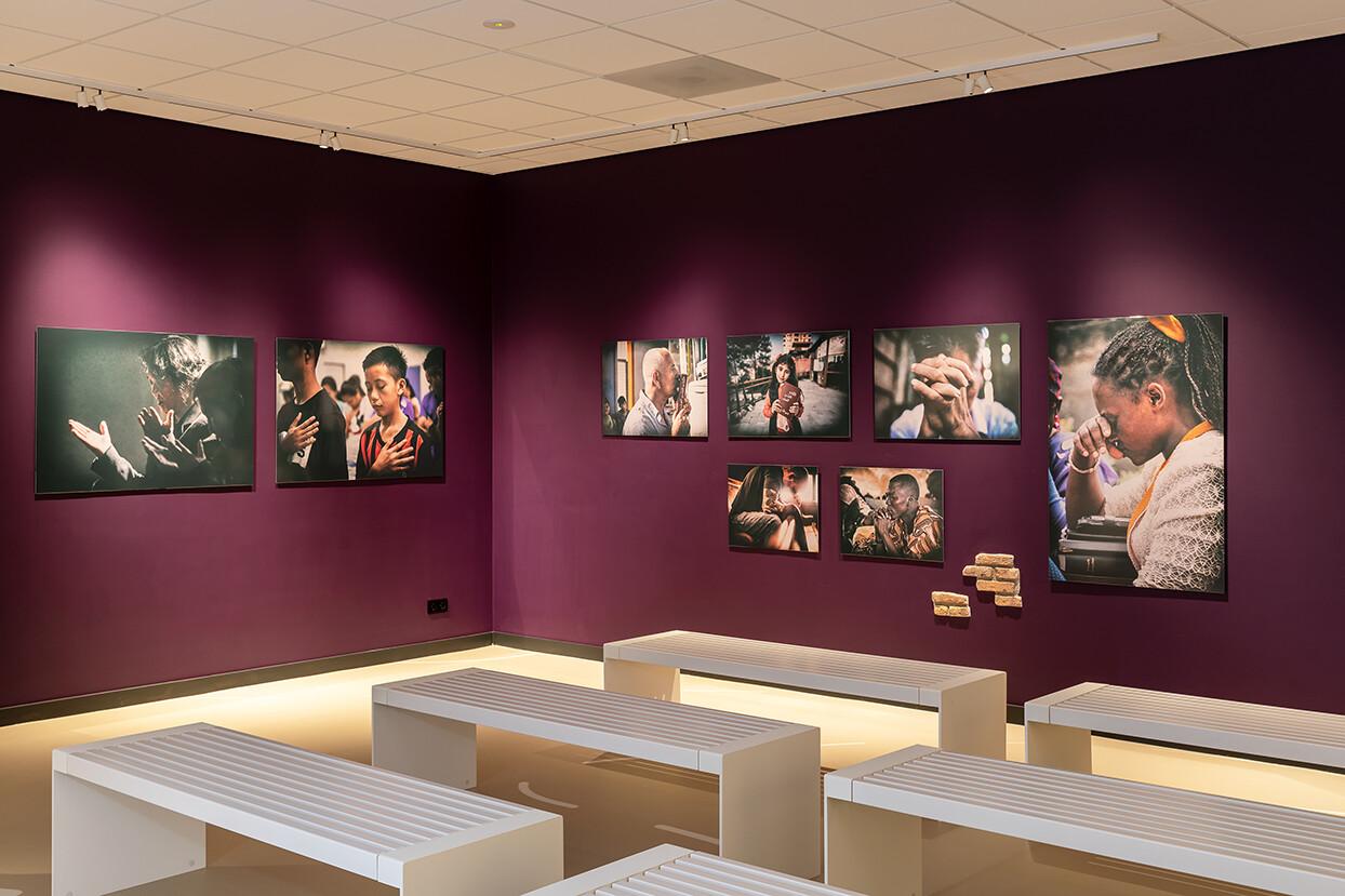 Duurzame banken voor museum Open Doors in Ermelo