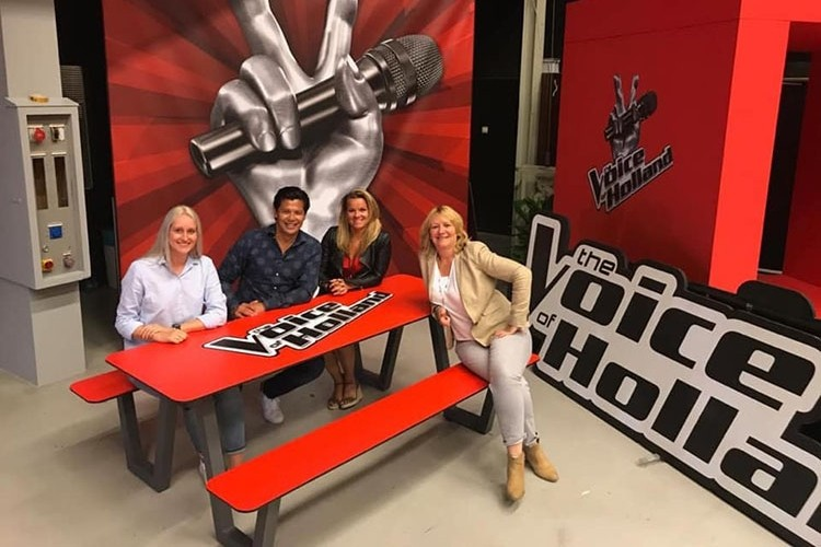 Picknicktafel Picnic HPL door in The Voice of Holland