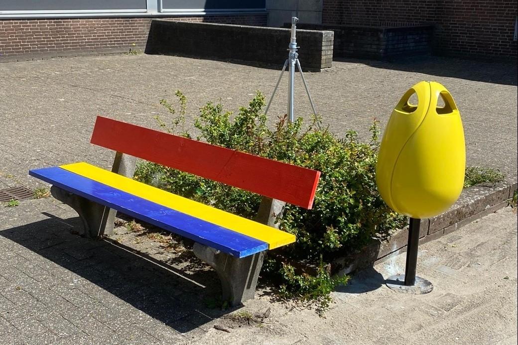 ROC Mondriaan zet terras in bloei met Tulpi Bin afvalbakken