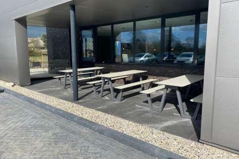 Picknicktafels voor gezond werken en ontspannen in de buitenlucht