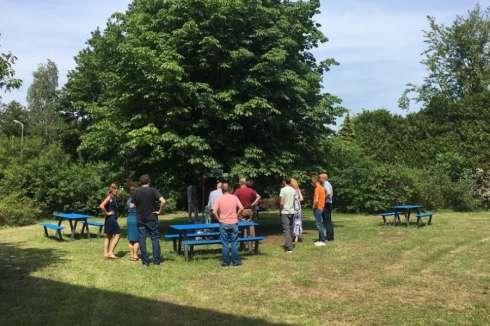 Picknicktafels om buiten te werken en ontspannen voor gemeente Wijdemeren